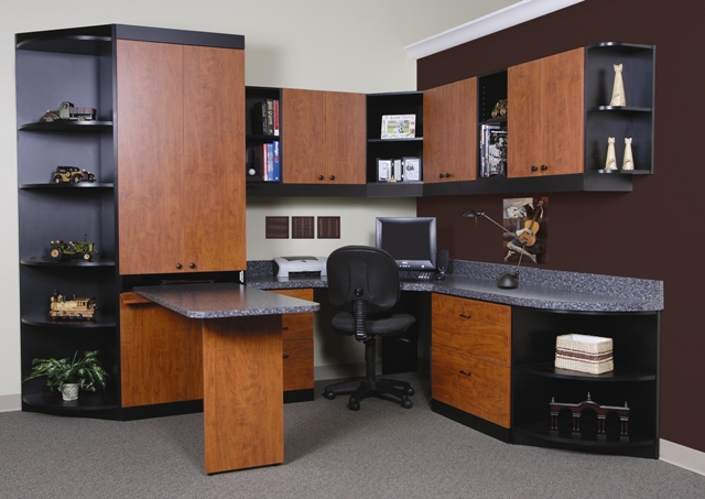 Get Custom Office Storage From Jacksonville More Space Place Mesmerizing Home Office Furniture Solutions Style Property